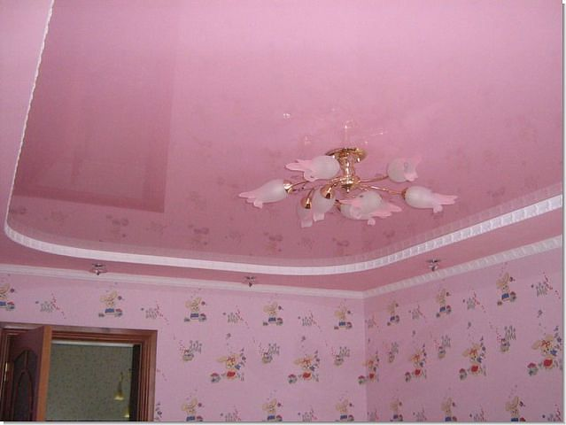 -потолок-в-детской
