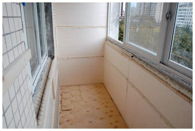 Утепление балкона и лоджии Челябинск, теплый пол на балконе..