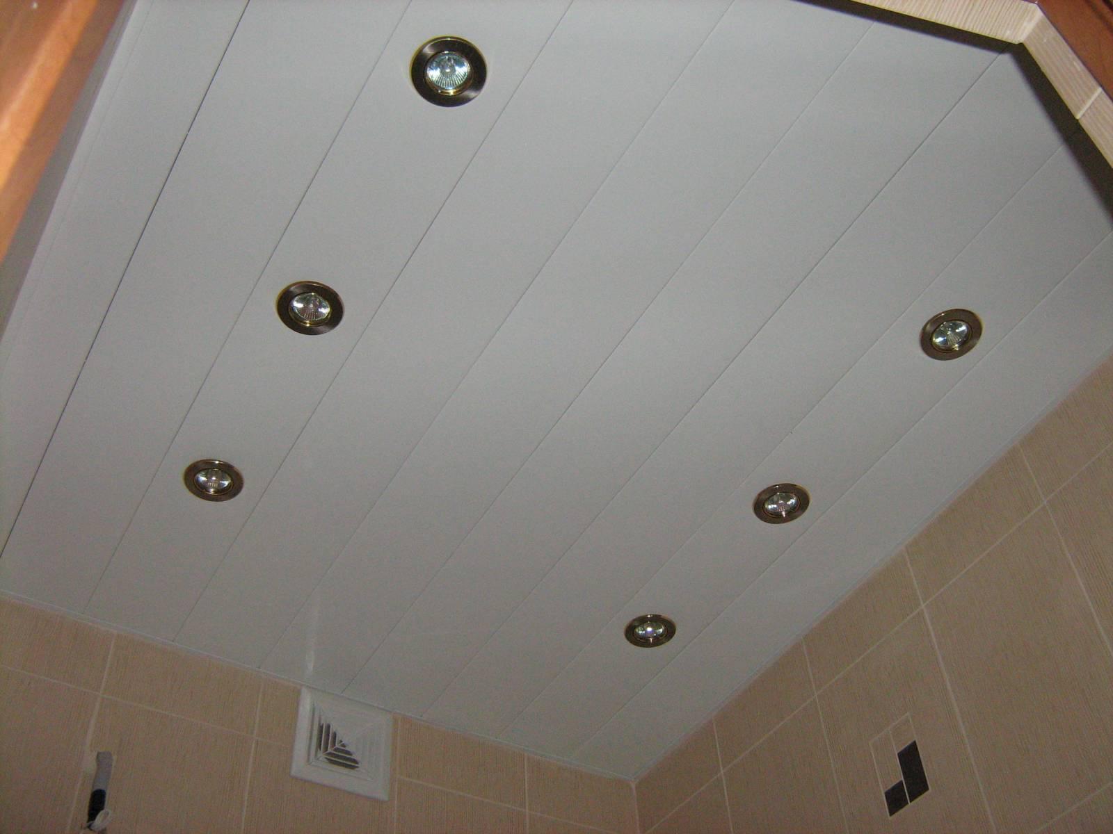 Своими руками точечное освещение в ванной 45