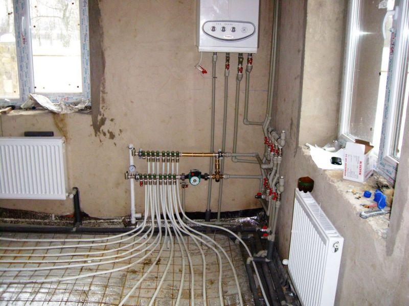 Как сделать отопление и теплый водяной пол в квартире