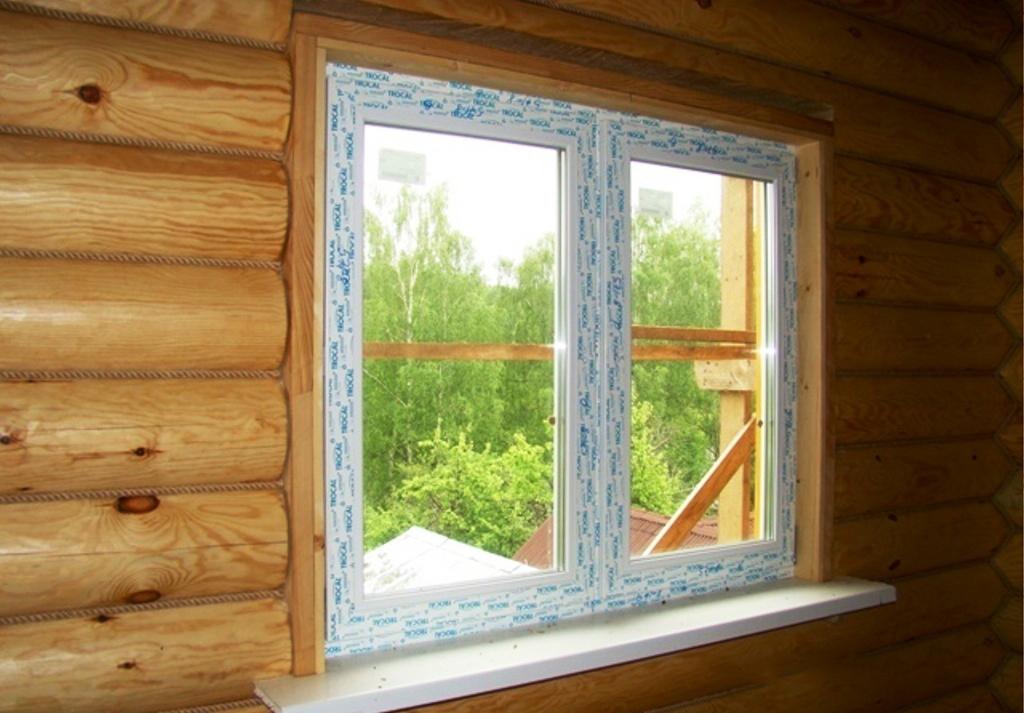 Как сделать окна для дома из бруса
