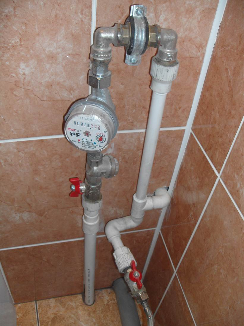 Как правильно установить счетчик на воду в частном доме…