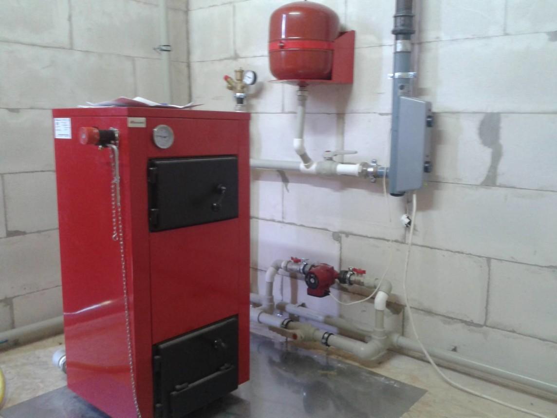 Установка настенного газового котла: монтаж 65