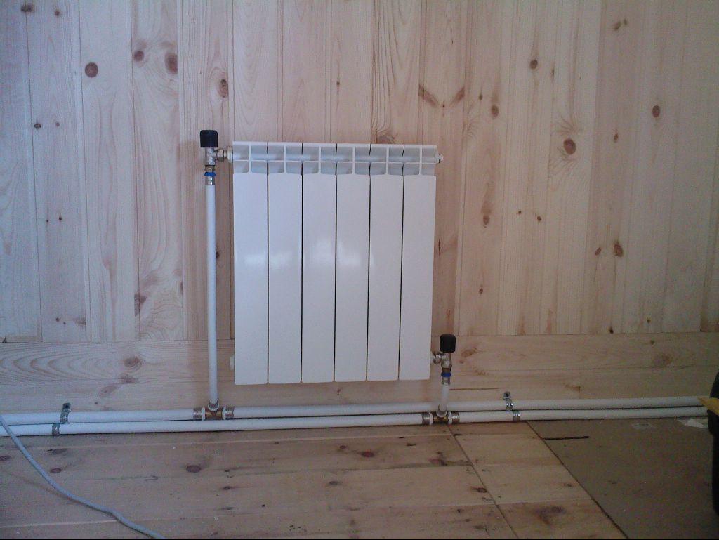 Монтаж радиаторов дома своими руками