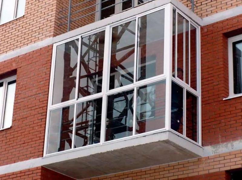Остекление, утепление, отделка балконов и лоджий . цена - до.