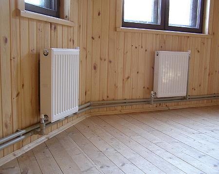 Замена системы отопления в частном доме - РИЦ Профессионал